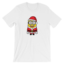 Santa Minion - Round Neck T-Shirt For Men - TheSixtyNine