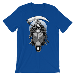 Scooter Reaper - Round Neck T-Shirt For Men - TheSixtyNine