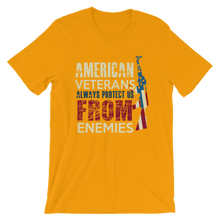 Protect From Enemies - Round Neck T-Shirt For Men - TheSixtyNine