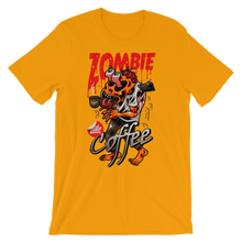 Zombie Like Coffee - Round Neck T-Shirt For Men - TheSixtyNine
