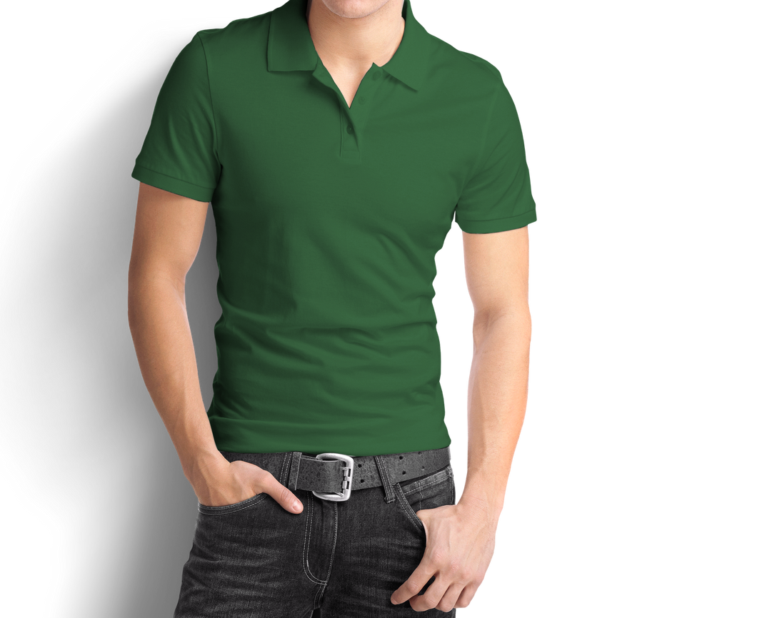 Bottle Green - Polo T-Shirt - TheSixtyNine