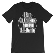 Caffeine Sarcasm - Round Neck T-Shirt For Men - TheSixtyNine