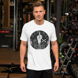 Fock Off - Round Neck T-Shirt For Men - TheSixtyNine