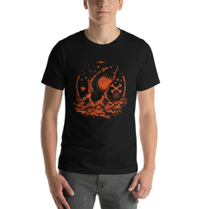 Angry Shark - Round Neck T-Shirt For Men - TheSixtyNine