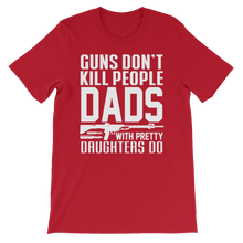 Dads With Daughter - Round Neck T-Shirt - TheSixtyNine