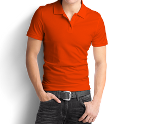Dark Orange - Polo T-Shirt - TheSixtyNine