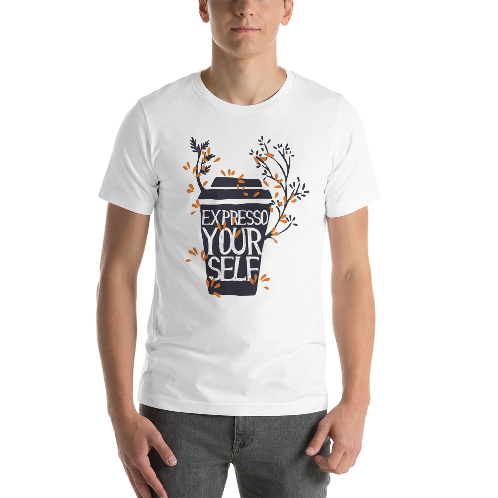 Express Yourself  - Round Neck T-Shirt For Men - TheSixtyNine