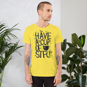 Cup Of STFU - Round Neck T-Shirt For Men - TheSixtyNine
