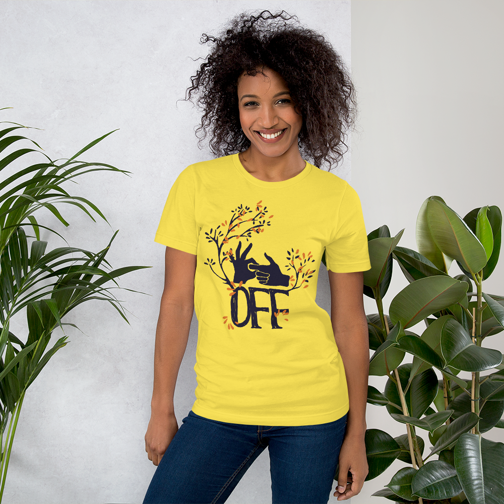 F Off - Round Neck T-Shirt - TheSixtyNine