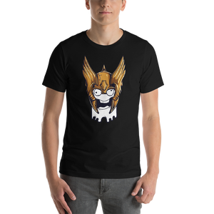 Chaotic Face - Round Neck T-Shirt For Men - TheSixtyNine