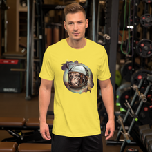 Space Monkey  - Round Neck T-Shirt For Men - TheSixtyNine