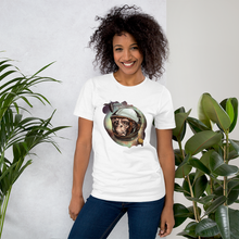 Space Monkey  - Round Neck T-Shirt - TheSixtyNine