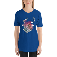 Colourful Deer  - Round Neck T-Shirt - TheSixtyNine