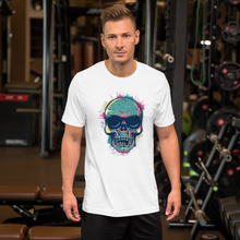 Painted Skull  - Round Neck T-Shirt For Men - TheSixtyNine