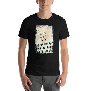 Black Raven  - Round Neck T-Shirt For Men - TheSixtyNine