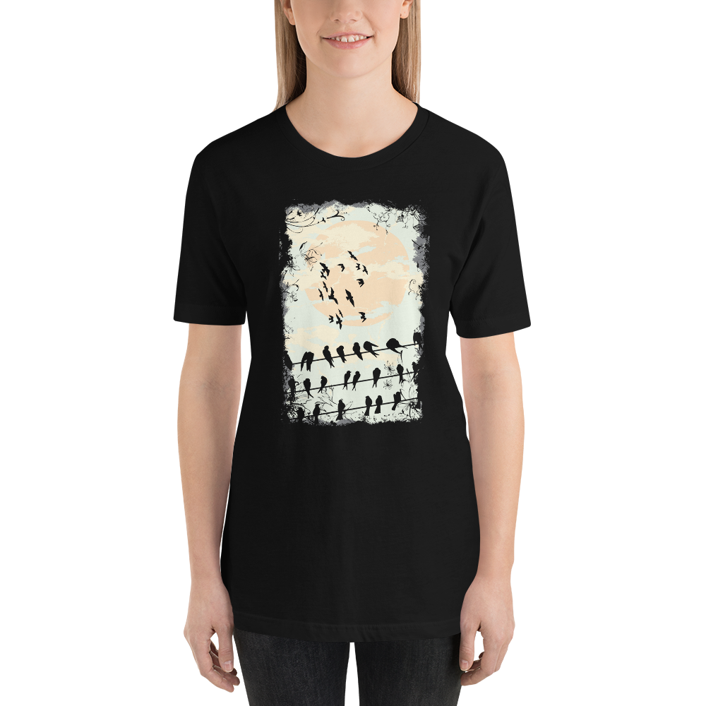 Black Raven  - Round Neck T-Shirt - TheSixtyNine