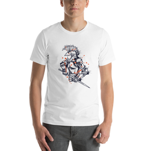 Warrior - Round Neck T-Shirt For Men - TheSixtyNine