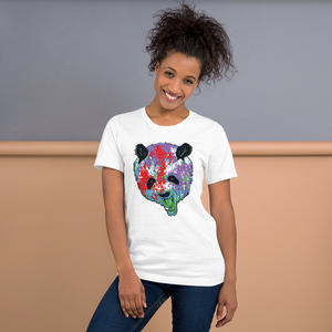 Colourful Bear  - Round Neck T-Shirt - TheSixtyNine