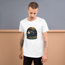Space Helmet  - Round Neck T-Shirt For Men - TheSixtyNine