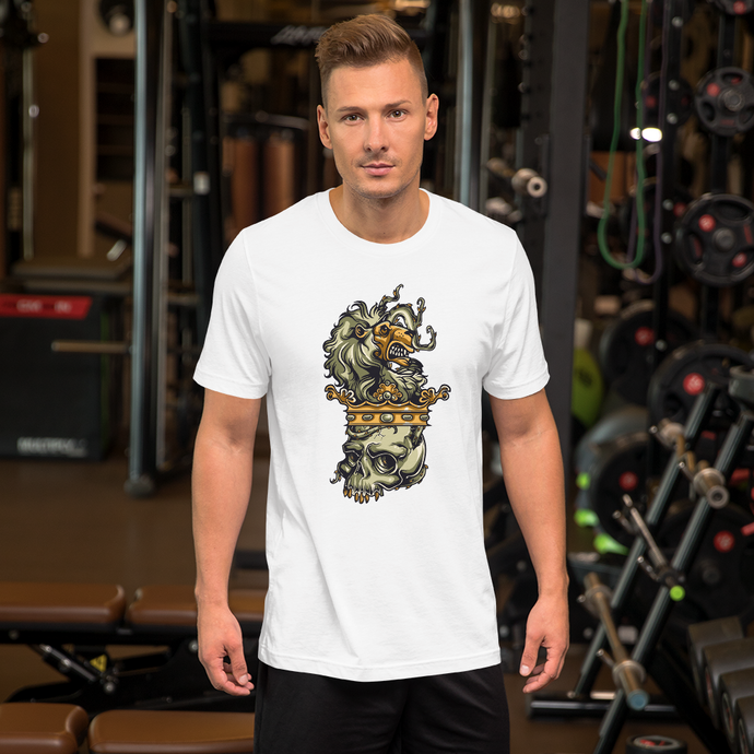 Skull Crown - Round Neck T-Shirt For Men - TheSixtyNine