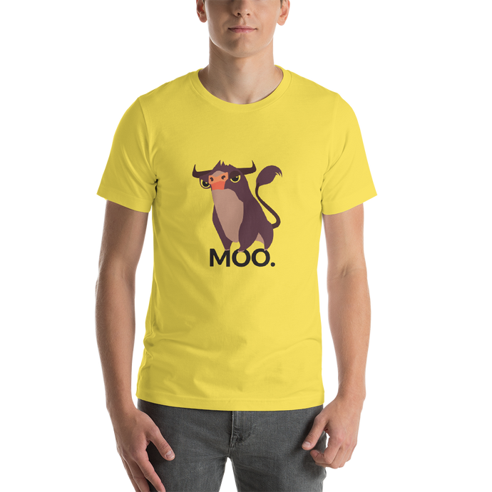 MOOO - Round Neck T-Shirt For Men - TheSixtyNine