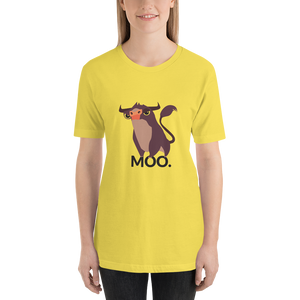 MOOO - Round Neck T-Shirt - TheSixtyNine
