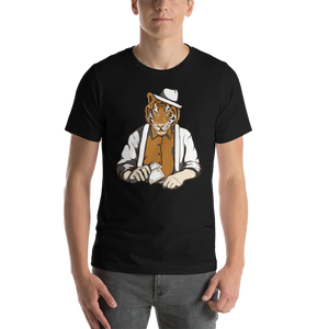 Sharp Tiger - Round Neck T-Shirt For Men - TheSixtyNine