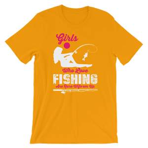 Love Fishing - Round Neck T-Shirt - TheSixtyNine