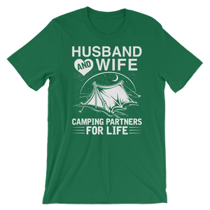 Husband & Wife  - Round Neck T-Shirt - TheSixtyNine