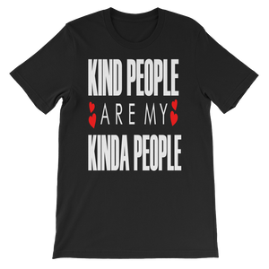 Kind People - Round Neck T-Shirt For Men - TheSixtyNine