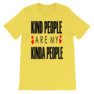 Kind People - Round Neck T-Shirt - TheSixtyNine
