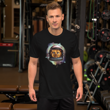 Space Cat  - Round Neck T-Shirt For Men - TheSixtyNine