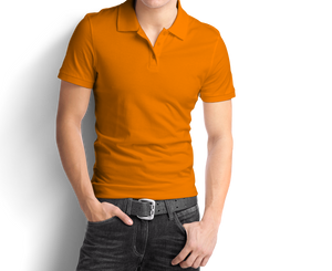 Light Orange - Polo T-Shirt - TheSixtyNine