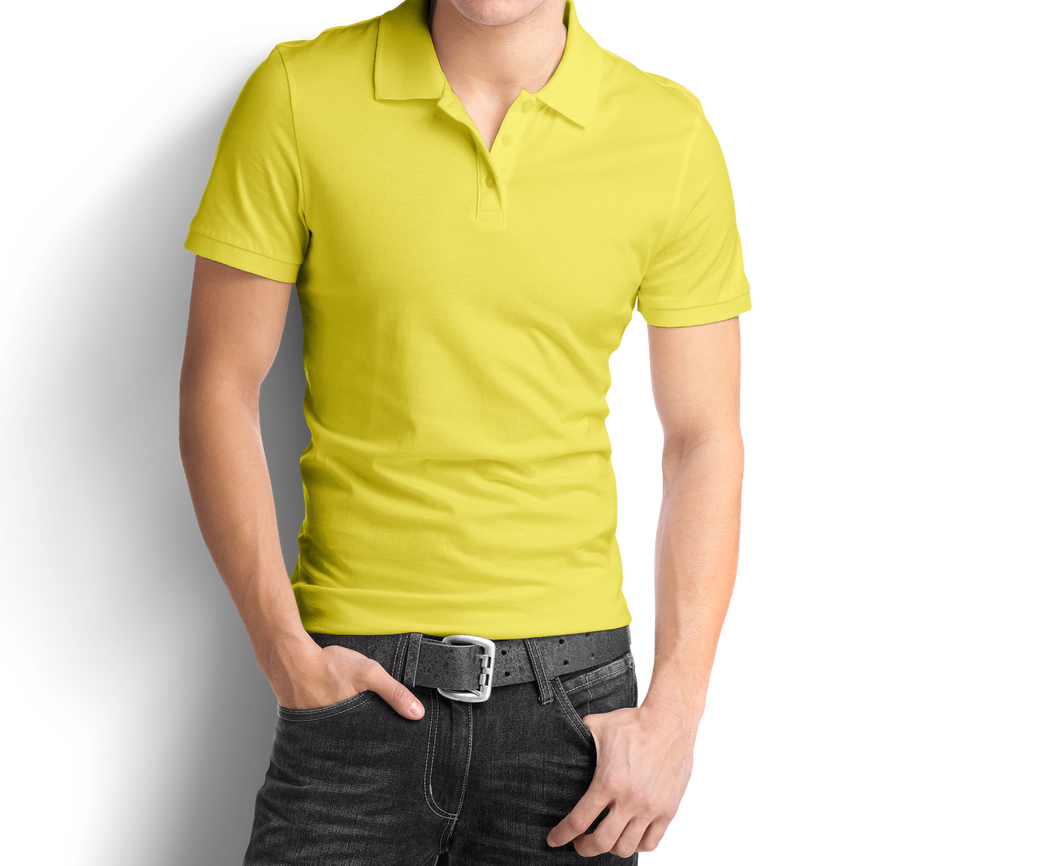 Light Yellow - Polo T-Shirt - TheSixtyNine