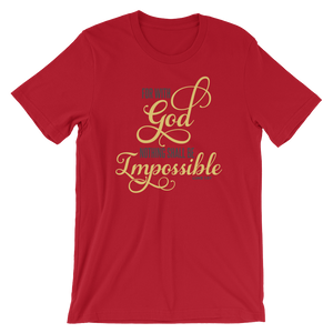 With God - Round Neck T-Shirt For Men - TheSixtyNine