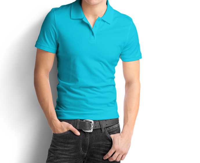 Mint Blue - Polo T-Shirt - TheSixtyNine
