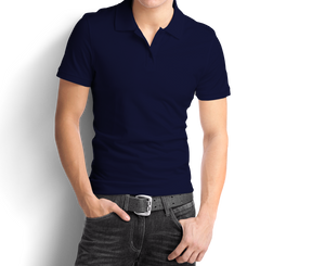 Navy Blue - Polo T-Shirt - TheSixtyNine