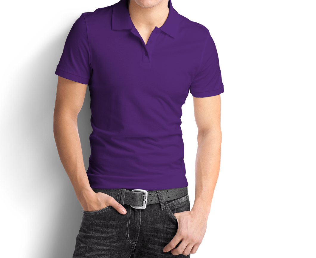Purple - Polo T-Shirt - TheSixtyNine