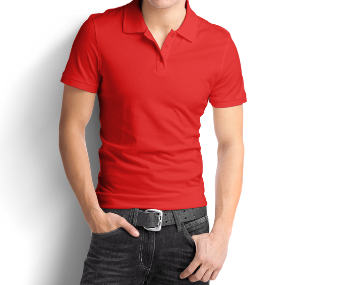 Red - Polo T-Shirt - TheSixtyNine