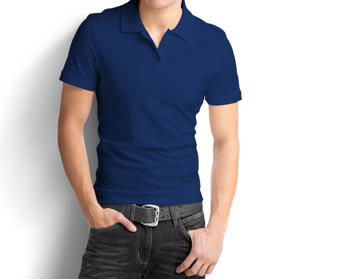 Royal Blue - Polo T-Shirt - TheSixtyNine