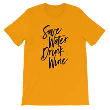 Save water - Round Neck T-Shirt - TheSixtyNine