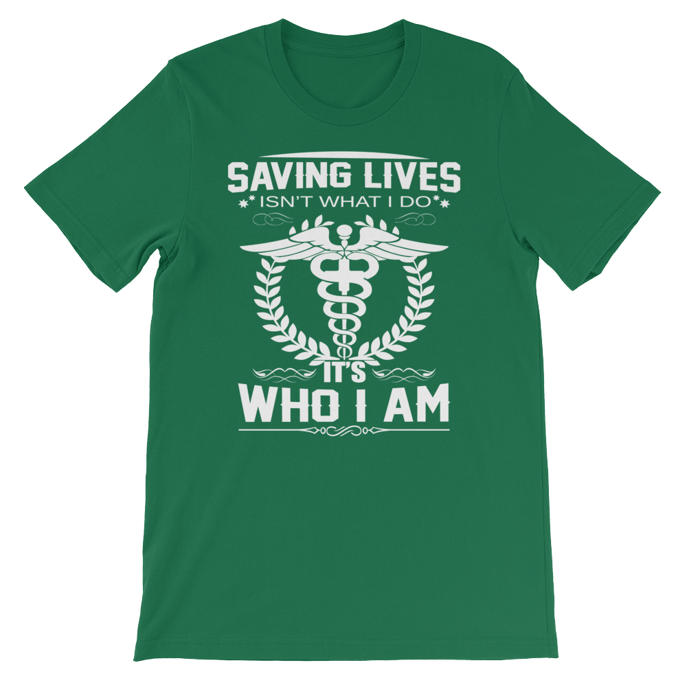 I Save Lifes - Round Neck T-Shirt For Men - TheSixtyNine