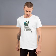 Evil Music - Round Neck T-Shirt For Men - TheSixtyNine