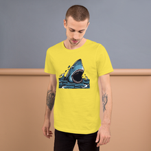 Hungry Shark - Round Neck T-Shirt For Men - TheSixtyNine