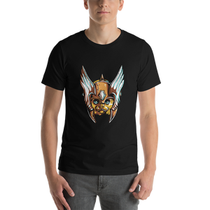Crown Kitty - Round Neck T-Shirt For Men - TheSixtyNine