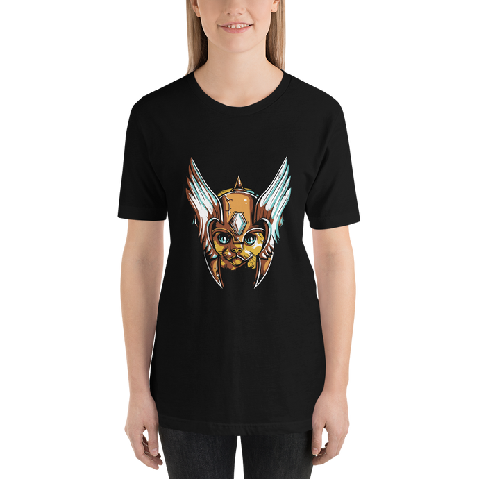Crown Kitty  - Round Neck T-Shirt - TheSixtyNine