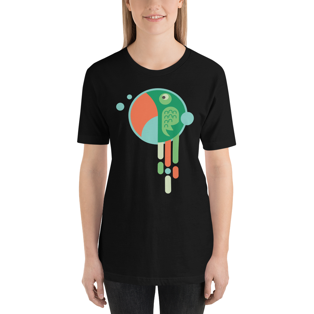 Parrot Ring - Round Neck T-Shirt - TheSixtyNine