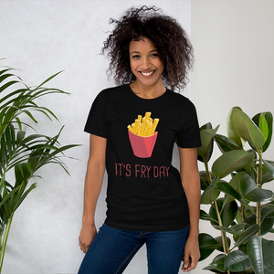 Its A FryDay - Round Neck T-Shirt - TheSixtyNine