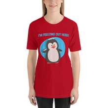 Frosty Penguin - Round Neck T-Shirt - TheSixtyNine