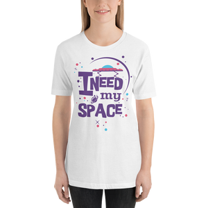 Need My Space - Round Neck T-Shirt - TheSixtyNine